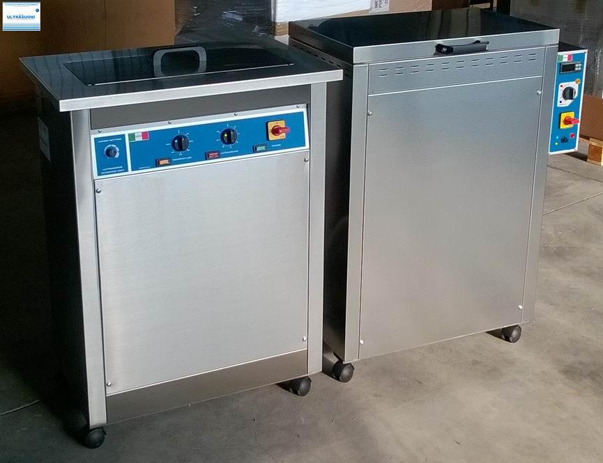 lavatrice ultrasuoni e forno ad aria forzata